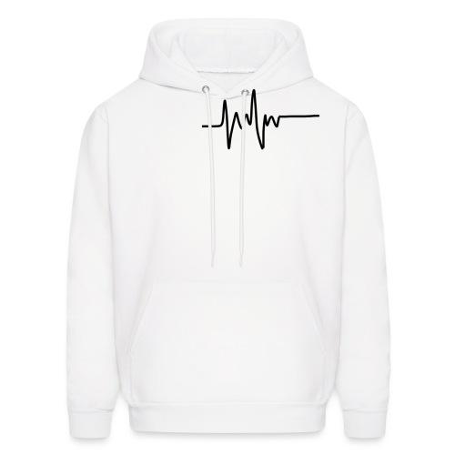 Heartbeat - Men's Hoodie
