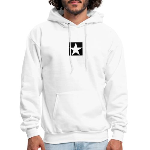 MOB-MOM ' WHITE STAR - Men's Hoodie