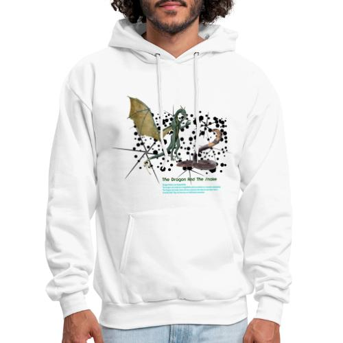 THE DRAGON AND THE SNAKE - Men's Hoodie