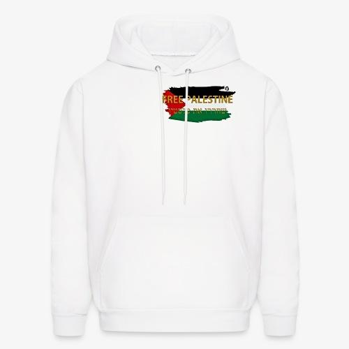 Free Palestine - Men's Hoodie