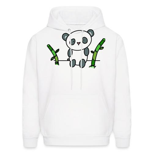 Panda with Bamboo - Men's Hoodie