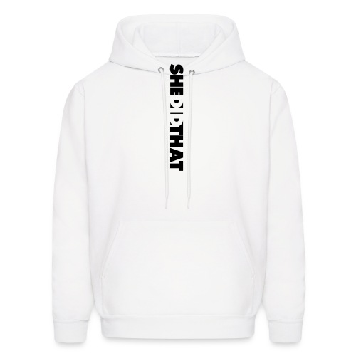 She Did That Large Design - Men's Hoodie