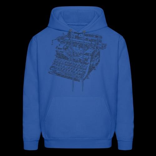 Typewritten Logophile - Men's Hoodie