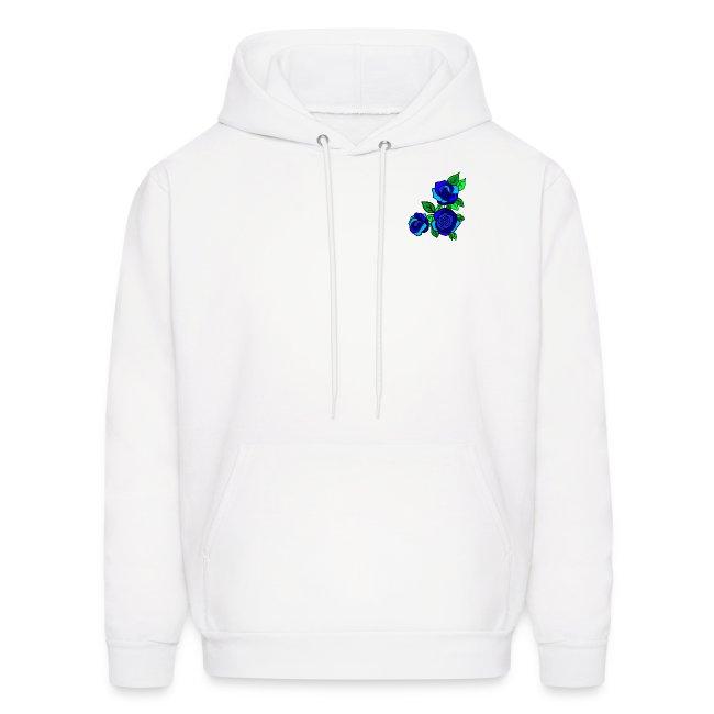 Simple blue Roses design