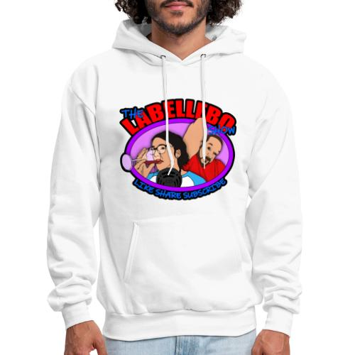 Justin and Toni Logo - Men's Hoodie