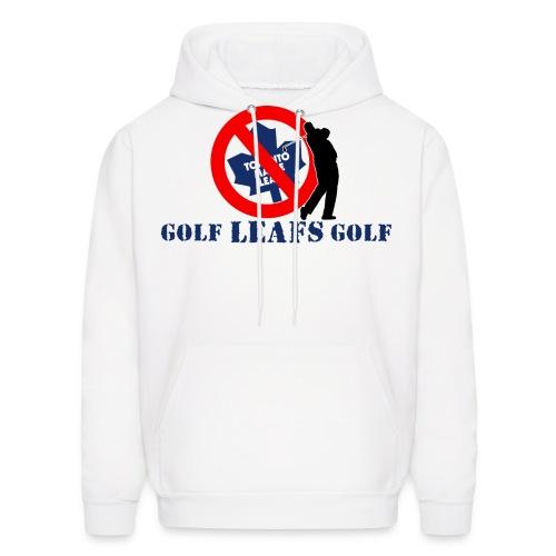 golfleafsgolf lightcoloredshirts - Men's Hoodie