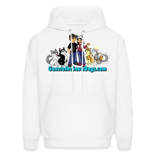 Snow Dogs Vlogs Logo - Men's Hoodie
