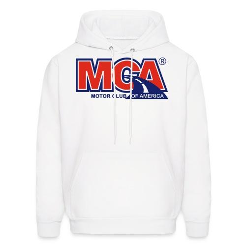 MCA_Logo_WBG_Transparent - Men's Hoodie