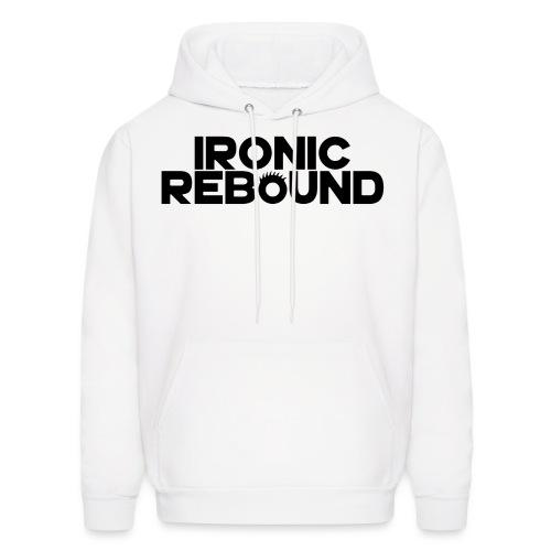 ironic rebound 5 png - Men's Hoodie