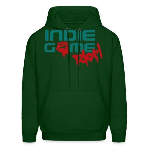62069 Indie Game Riot png - Men's Hoodie