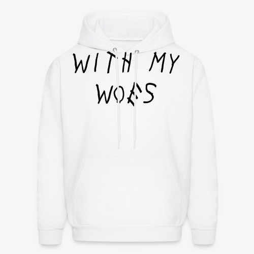 with my woes - Men's Hoodie