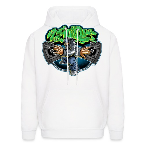 Cholo Disc by RollinLow - Men's Hoodie