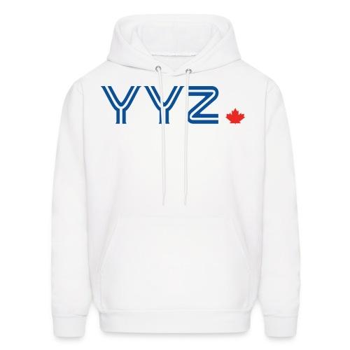 YYZ-Leaf-Blue - Men's Hoodie