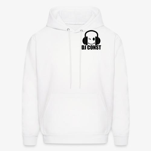 DJ Const Official Merch White - Men's Hoodie