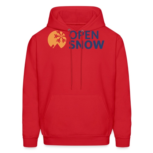 OpenSnow Horizontal Logo - Men's Hoodie