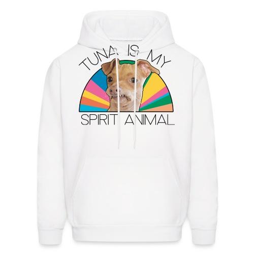 Spirit Animal–Rainbow - Men's Hoodie