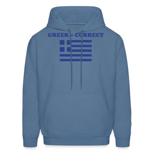 greekcorrect - Men's Hoodie