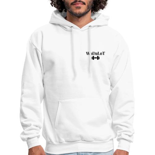 WoDaLoT black logo - Men's Hoodie