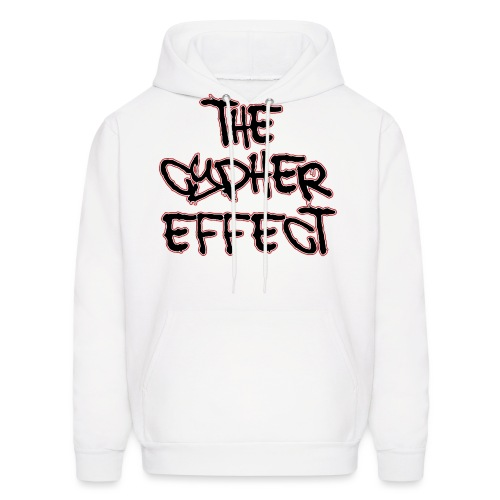 white shirt tce2 png - Men's Hoodie