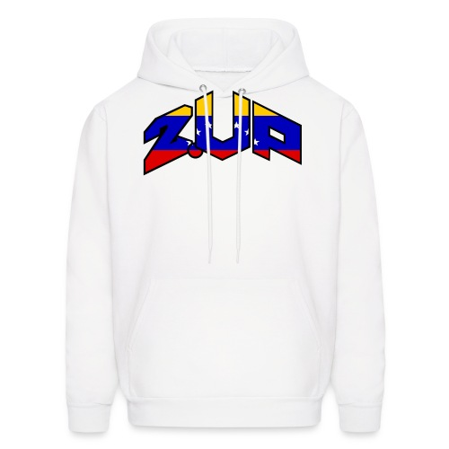 2up logo ven - Men's Hoodie