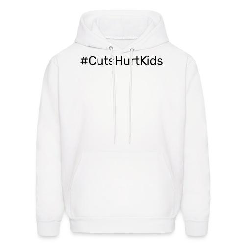 #CutsHurtKids - Men's Hoodie