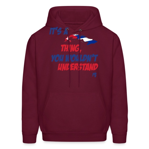 cuban thing - Men's Hoodie