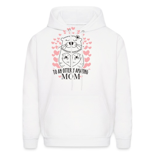 To An Otterly Amazing Mum, Gift For Otter Lovers - Men's Hoodie