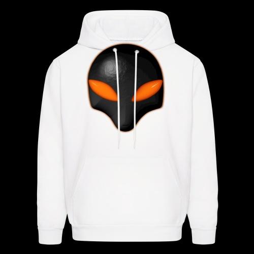Alien Bug Face Orange Eyes - Men's Hoodie