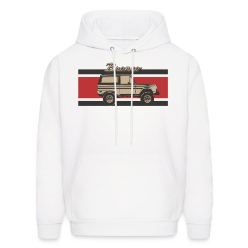 Bronco Truck Billet Design Men's T-Shirt - Men's Hoodie