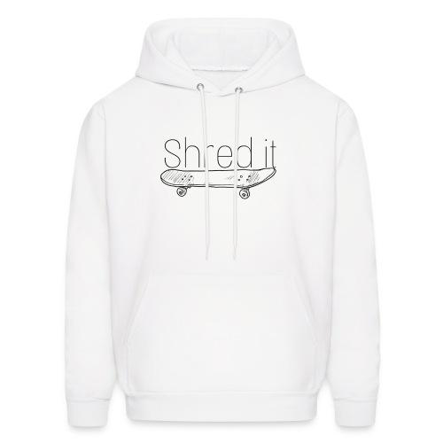 Shred it classic - Men's Hoodie