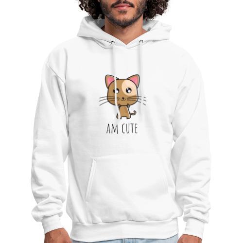 Am Cute Furry Animal - Men's Hoodie