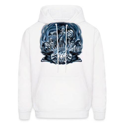 Pachuco Smoke by RollinLow - Men's Hoodie