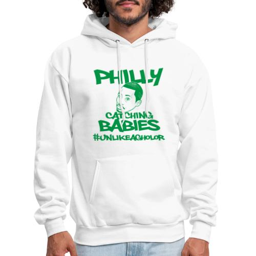 #UnlikeAgholor Green - Men's Hoodie