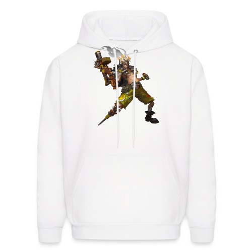 junkrat overwatch drawn by arnold tsang 2baffe0 - Men's Hoodie