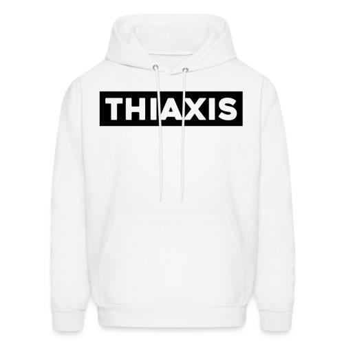 THIAXIS BLACK BAR - Men's Hoodie