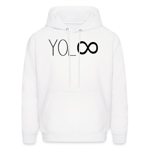 You Only Live Infinity - Men's Hoodie