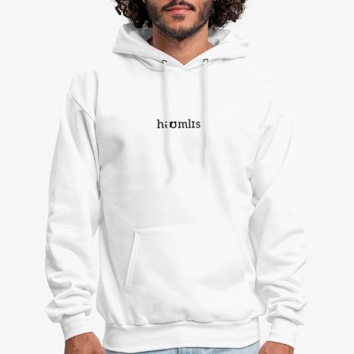 Homeless Pronunciation - White - Men's Hoodie
