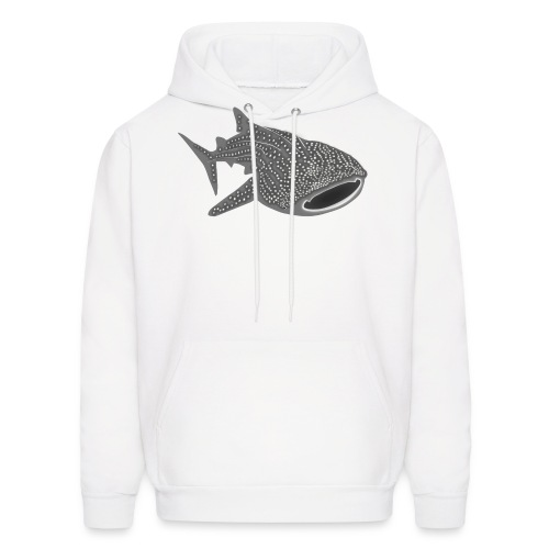 save the whale shark sharks fish dive diver diving - Men's Hoodie