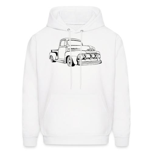 1951 F100 Classic Pickup Truck Men's T-Shirt - Men's Hoodie