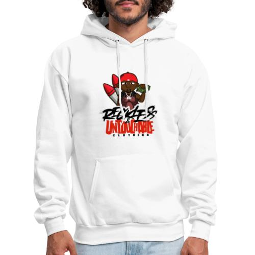 Reckless and Untouchable_1 - Men's Hoodie