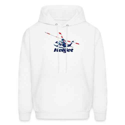 Helijet Colour Artwork - Men's Hoodie