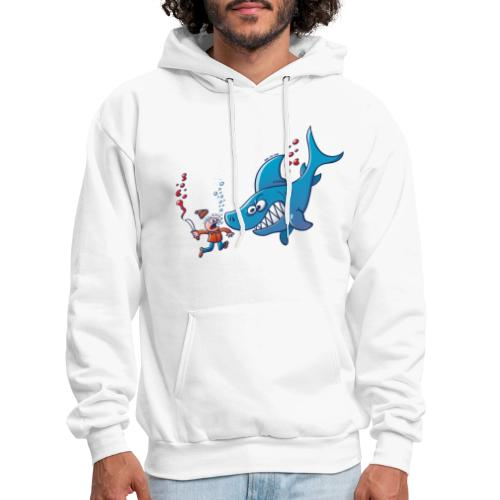 Sharks are Furious, Stop Finning! - Men's Hoodie