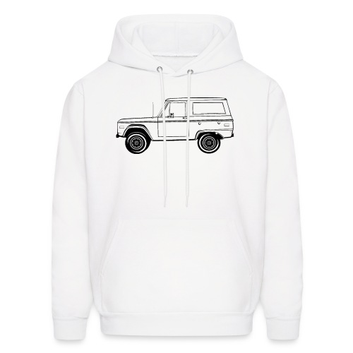 Bronco Truck Line Art Men's T-Shirt - Men's Hoodie