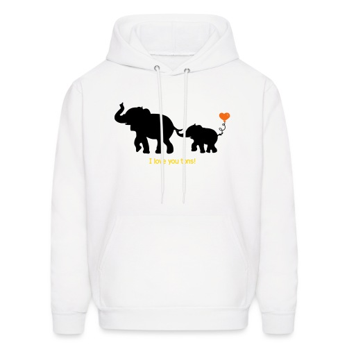 I Love You Tons! - Men's Hoodie