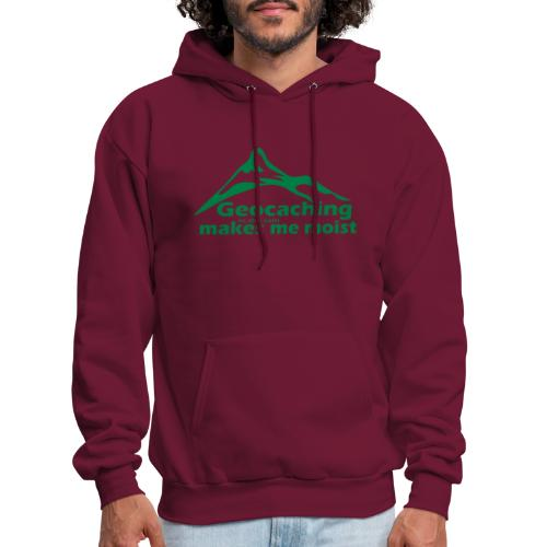 Geocaching in the Rain - Men's Hoodie