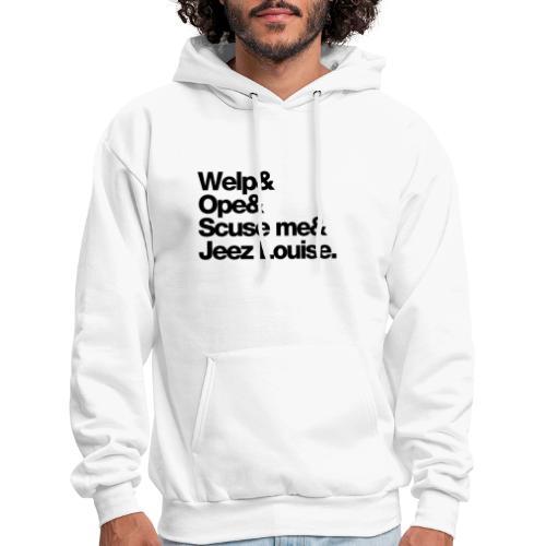 Midwest Series: Welp (Black) - Men's Hoodie
