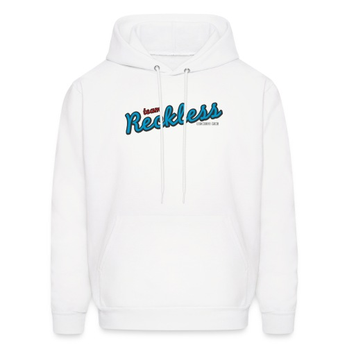 teamreckless logo blue2 png - Men's Hoodie