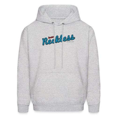 teamreckless logo blue2 png - Men's Hoodie