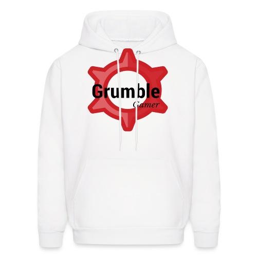 GrumbleGamer18 logo - Men's Hoodie