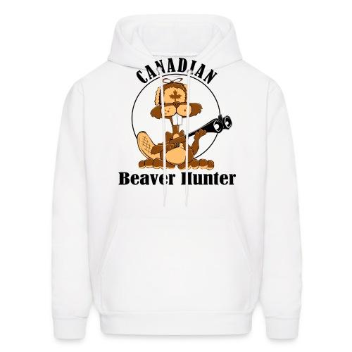 Canadian Beaver Hunter - Men's Hoodie